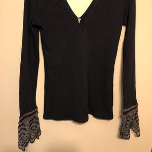 FREE PEOPLE Henley Thermal Size M